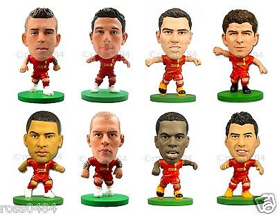Liverpool FC 2016 SoccerStarz Figures Players Football Figurines Official Gift