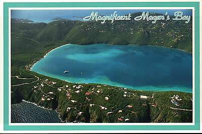 Aerial View of Magen's Bay, Beach, St. Thomas, US Virgin Islands --- Postcard