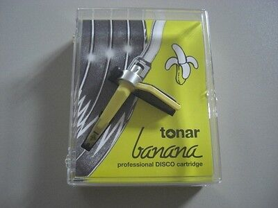 Tonar Banana (made by Ortofon) NEU Concorde DJ System NEW Cartridge Gelb Yellow