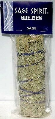 SMUDGE STICK: 18cms DESERT SAGE - Wicca Witch  Reiki Pagan PURIFY CLEAR SPACE