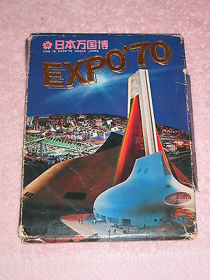 New Rare Lot Of 25 Japan Osaka Expo '70 Postcards Post Cards With Sleeve