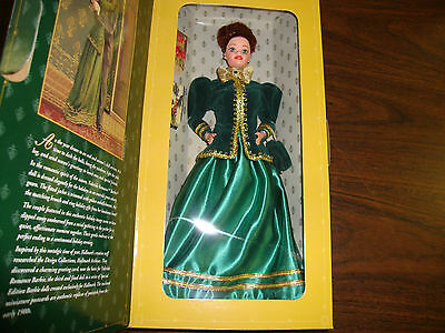 Yuletide Romance Barbie---Hallmark Special Edition---3rd In A Series---1996