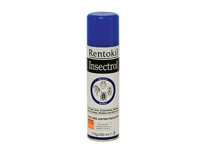 Rentokil Insectrol Insect fleas ant Killer 250ml PS136
