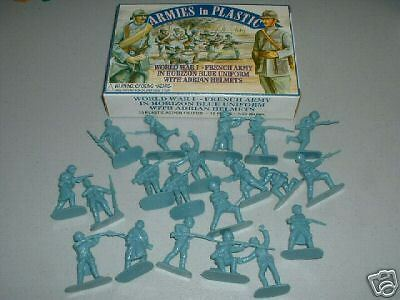 Armies in Plastic 1/32  54mm  WW1 French (Blue)