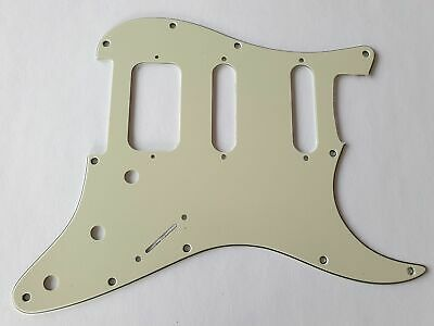 Stratocaster HSS guitar pickguard 3ply mint green fits fender brand new