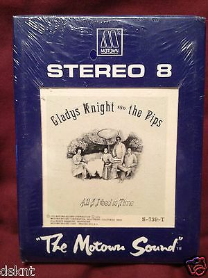 new 8 Track Tape Gladys Knight and the Pips All I Need Is Time factory sealed &