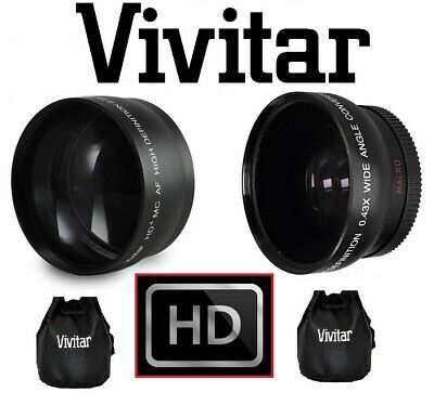 PRO HD WIDE ANGLE & TELEPHOTO LENS FOR PENTAX K-30 K30