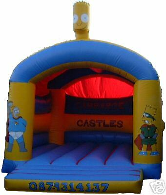 SSon ArchedHead Bouncy Castle 11.5 FT X 11.5 FT Made To Order