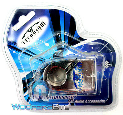 B-15 Titanium Chrome Plated Negative Battery Terminal 4 Gauge 2 8 Gauge In - Out