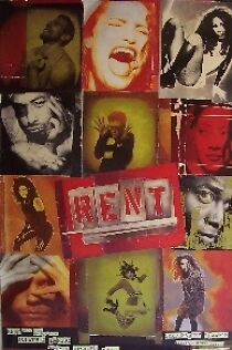 """Rent-Broadway Musical Poster-London Style """"a"""""""