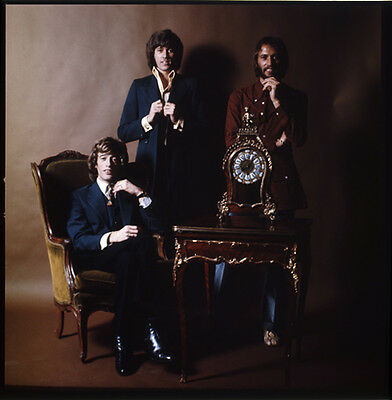 The Bee Gees Barry Maurice Robin Gibb 2 1/4 Transparency Slide Rare Photo Shoot