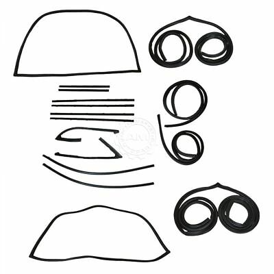 Complete Seal Kit Chrome Trim for Chevy GMC Pickup 67-72
