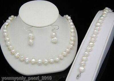 """MP"""" Natural baroque pearl necklaces&bracelets&earrings"""