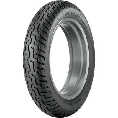 Dunlop D404 Series Front 130/90-16 Blackwall Motorcycle Tire