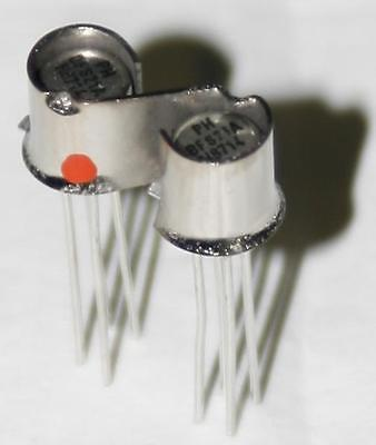 2x BFS21A BFS21 Matched NFET N-Ch Philips Semiconductor  NOS