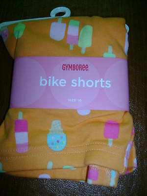NWT Gymboree popsicle party bike shorts ice cream 9 colorful bright