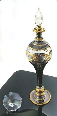 Vintage Handmade Egyptian Bottle made pre 1995  JCE17 31
