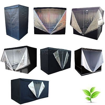 Indoor Portable Grow Tent Bud Dark Green Room Silver Mylar Lined Hydroponic New