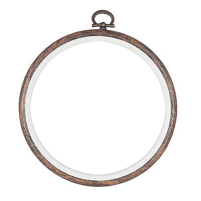 Embroidery Flexi Hoop CrossStitch Sewing Round Plastic Frame Free Postage 5 inch