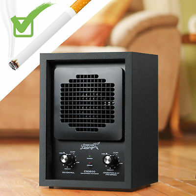 New AIR PURIFIER Ozone Generator Industrial SMOKE MOLD MILDEW ODOR REMOVER L