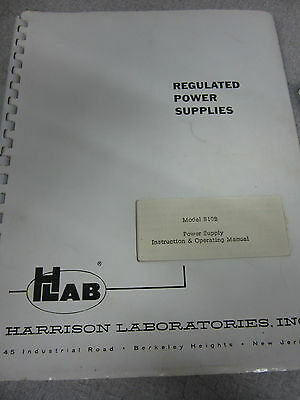 HP 810B Power Supply Instruction & Operation Manual