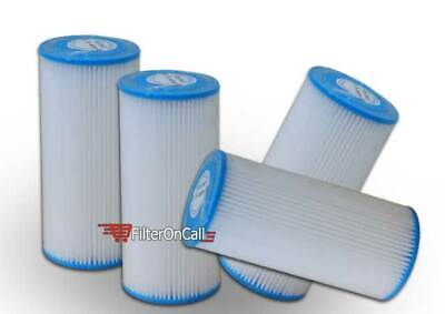 6 PK R30-BB RS6 FXHSC Compatible Sediment Pleated Water Filter Washable 30 μm