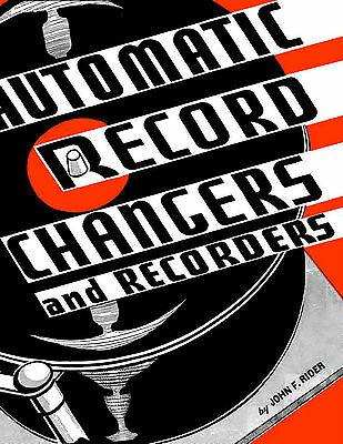 Automatic Record Changers and Recorders by Rider 1941 - CDROM - PDF