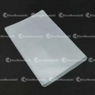 5 10 30 50 100 PCS Business Credit ID Card Badge Holder Vertical Clear CSA026