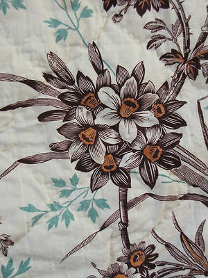 Piece TWO of set ~ bed valance antique French textile ~ gorgeous 19th century