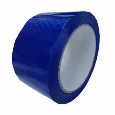 6 x Blue Parcel Packing Tape Packaging 48mm x 66m