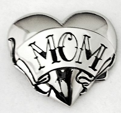 Love Mom Heart Die Cut Belt Buckle  Rock Rebel New Mother Day Perfect Gift Mommy