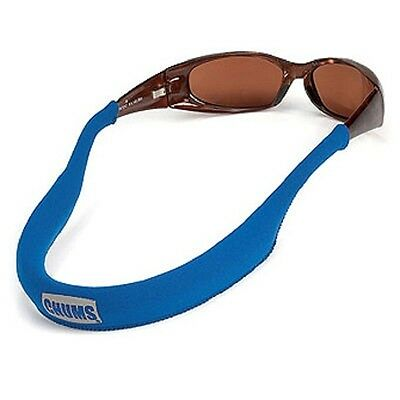 CHUMS NEO retainer sunglasses glasses float strap boating floating marine BLUE