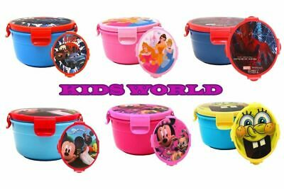 Kids Large Snack Pot School Lunch Boxes Baby Travel Food Storage Container Pots