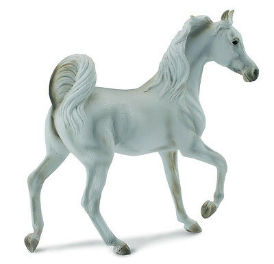 NEW CollectA 88476 Arabian Mare Grey Horse 12cm tall - Combined Postage