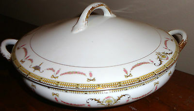 The Sahara By Noritake China Covered Round Vegetable Casserole Dish Bowl