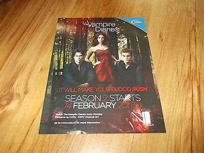 Vampire diaries season 2-2011 magazine advert