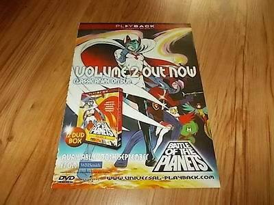 Battle of the planets volume 2-2002 magazine advert