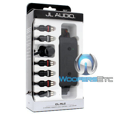CL-RLC JL AUDIO 2 CHANNEL REMOTE LEVEL AMP CONTROL LINE for CL441DSP CLEAN SWEEP