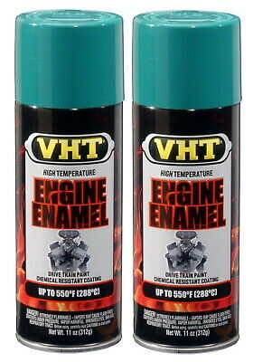 2 X Vht Sp131 Ford Green Engine Enamel Paint
