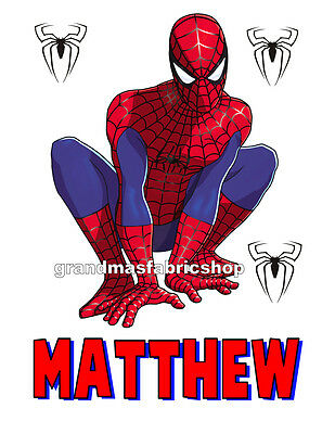 New Spiderman Personalized Custom T Shirt Party Favor Birthday Gift present