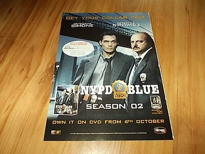 NYPD blue season 2-2003 magazine advert