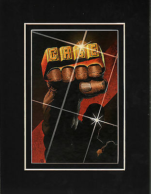 LUKE CAGE - POWER MAN Print Professionally Matted Frame Ready
