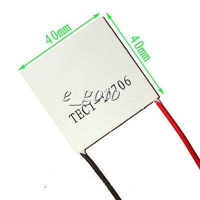 1PCS TEC1-12706 Thermoelectric Cooler Peltier 12V 60W 92Wmax for Arduino Raspber