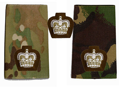 New British Army Foot Guards Officers Major Crown ( used on DPM and MTP Multicam