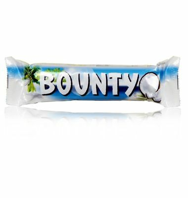 BOUNTY MILK CHOCOLATE _ Full Box Of 24 Bars