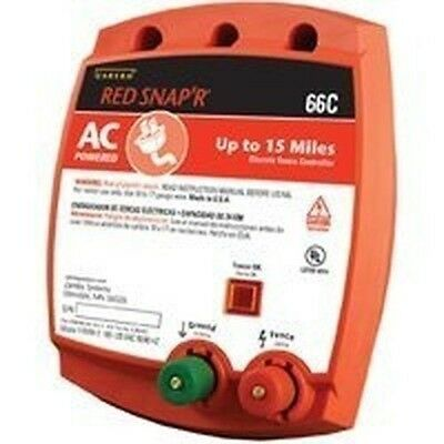 NEW RED SNAP'R 66C USA MADE 15 MILE ELECTRIC FENCE CONTROLLER CHARGER NEW SALE