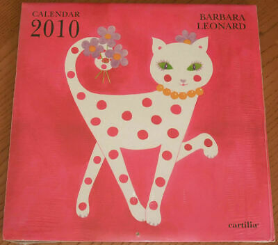 Calendario BARBARA LEONARD 2010 Cartilia Calendar AA1