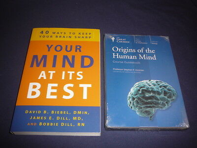 Teaching Co Great Courses DVDs      ORIGINS of the HUMAN MIND      new + BONUS