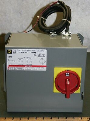 Square D Transformer Disconnect 9070 SK750G1