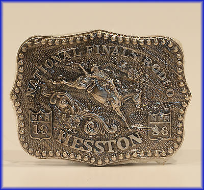 Hesston Buckle 1986 ***Nfr*** National Finals Rodeo   New!!!